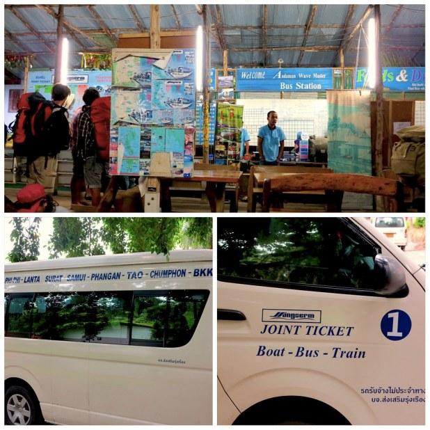 Traslado desde Krabi a Bangkok