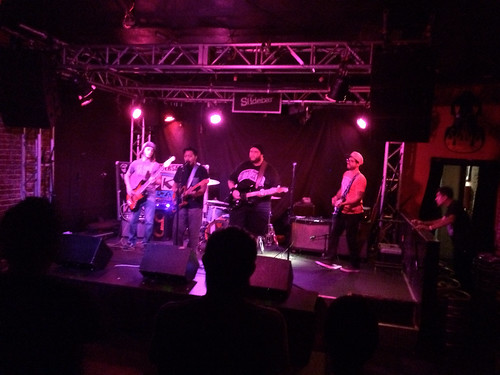 The Paranoias at the Ska Parade Lounge on October 8, 2014