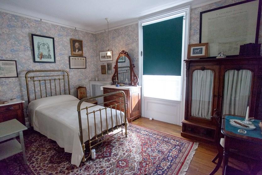 Franklin's Childhood Room.