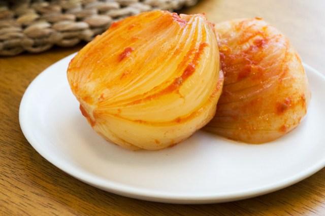 Soft, sweet onions.