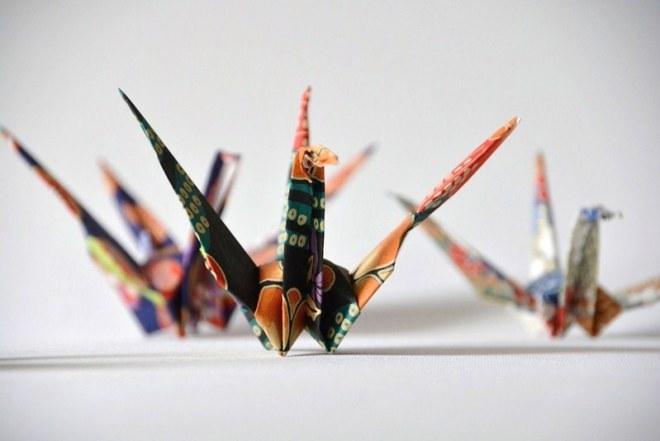 Origami Kranich (11)