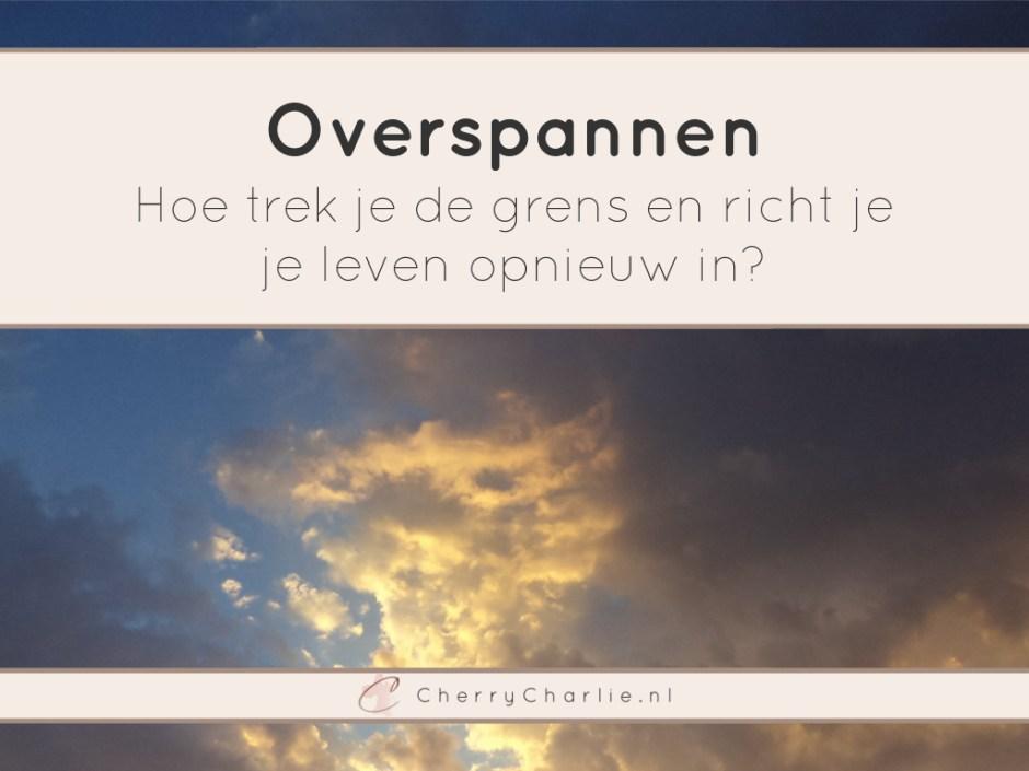 Overspannen: Hoe trek je de grens en richt je je leven opnieuw in? • CherryCharlie.nl