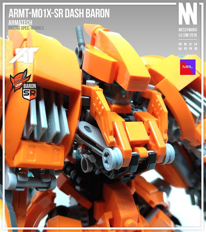 ARMT-M01X-SR Dash Baron