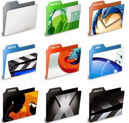 Application Folder Icons