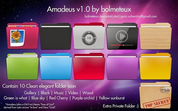 Free Media Play Folder Icons