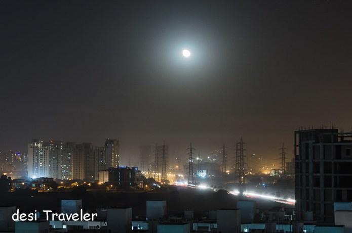 Karwa Chauth Moon Light Trails