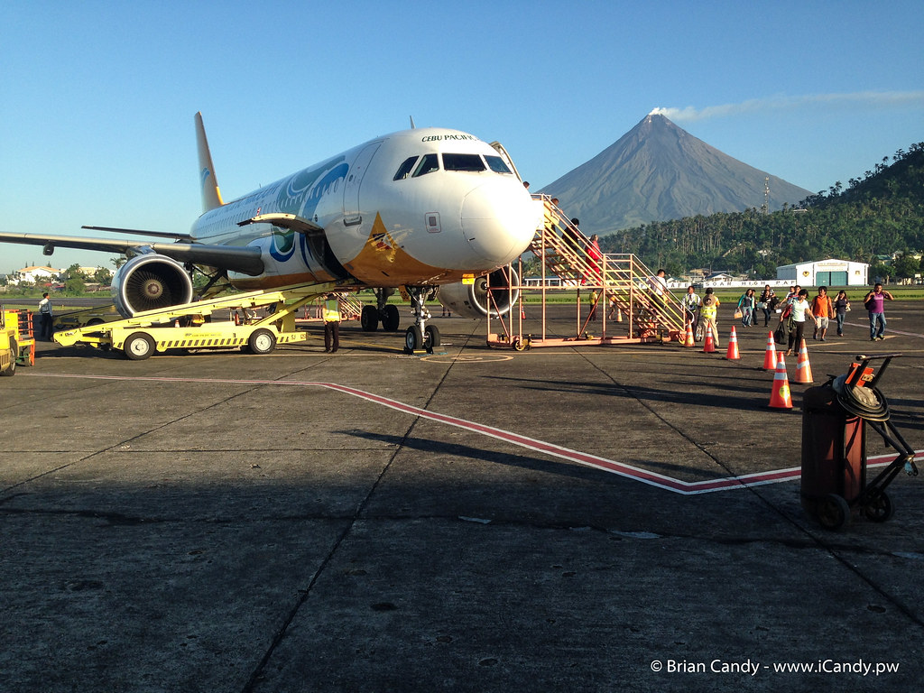 Mayon from Legazpi Airport