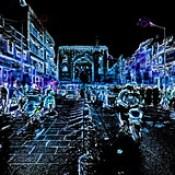 India - Telangana - Hyderabad - Streetlife At Night - 10bb.