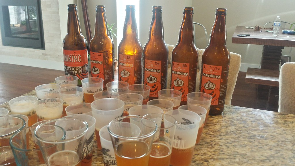 Southern Tier Pumking tasting