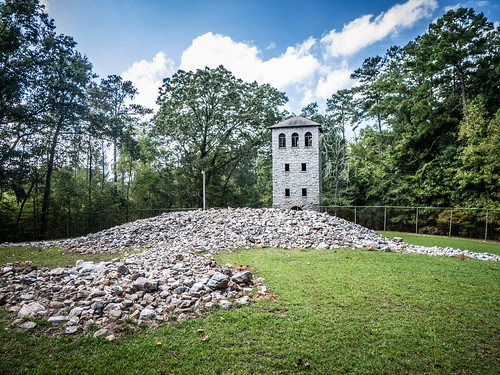 Rock Eagle Tower and Effigy Mound