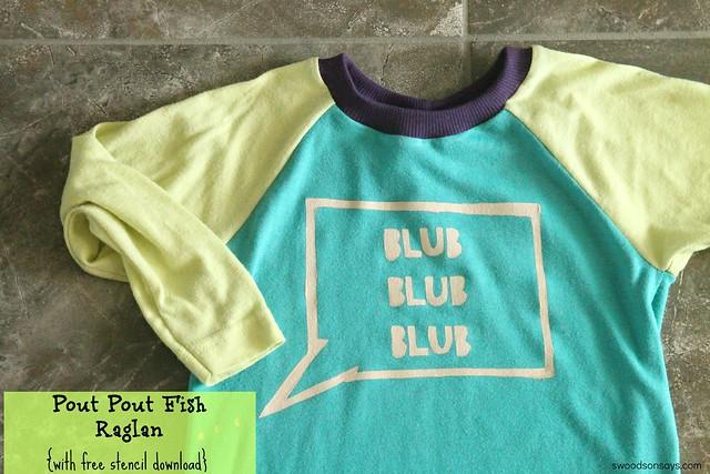pout pout fish shirt