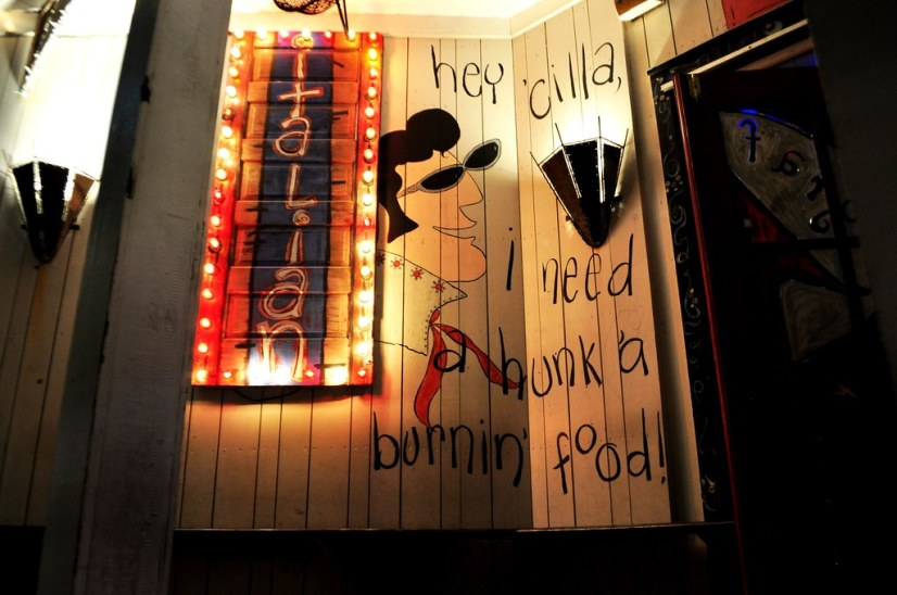 Graffiti & The Funky Blues Shack - Baytowne Wharf at Sandestin Golf and Beach Resort, Fla., Oct. 24, 2014