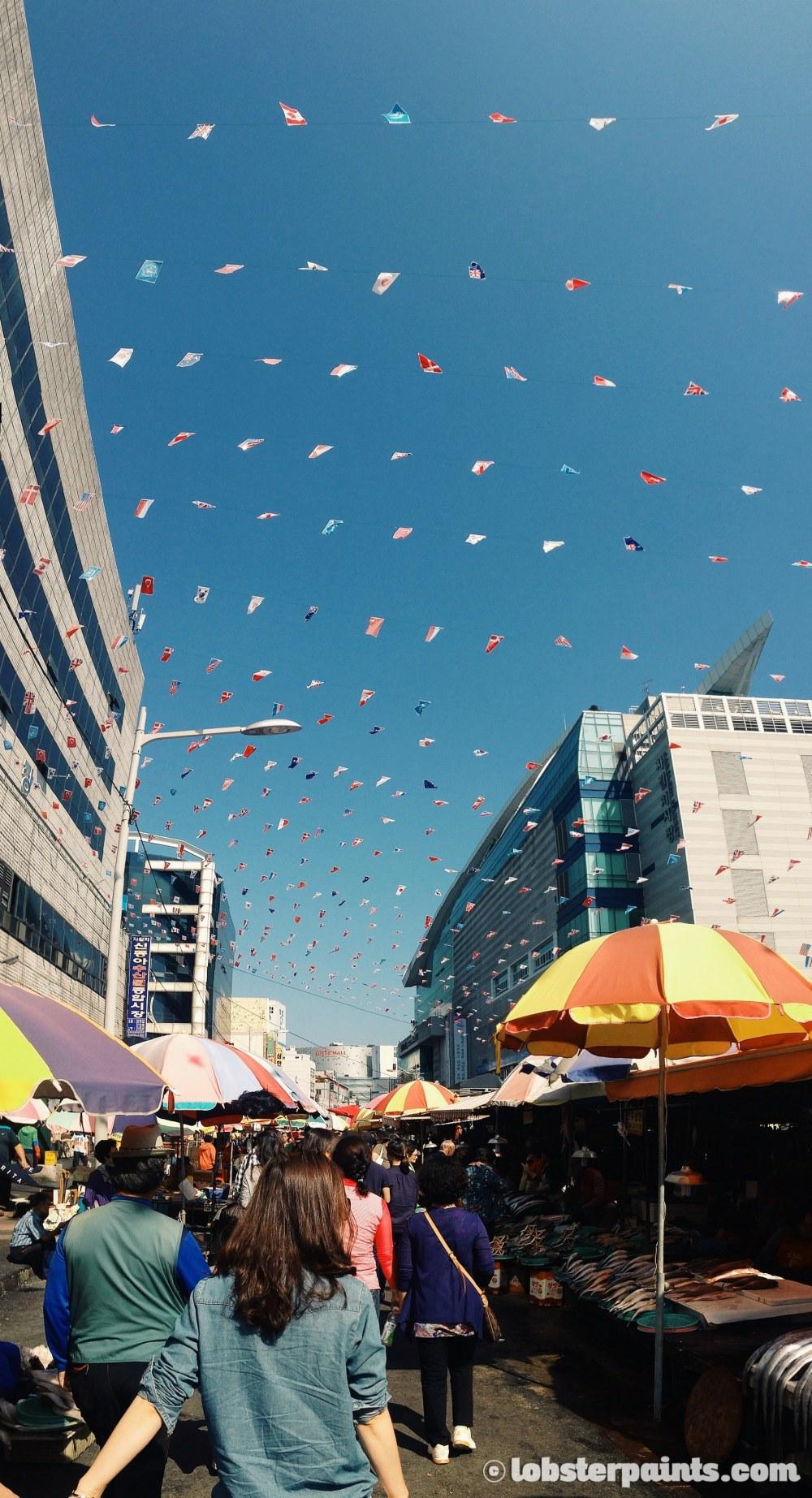 27 Sep 2014: Jagalchi Market   Busan, South Korea