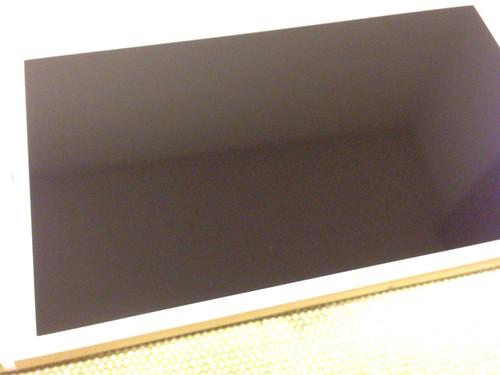 クリスタルアーマー® プレミアム強化ガラス for iPhone 6 Plus (0.15mm ゴリラガラス)_拭き取り後