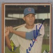 1962 Topps / All-Star Rookie - Billy Williams #288 (PSA Certified) (Outfielder) (Hall of Fame 1987) - Autographed Baseball Card (Chicago Cubs) (card #2)
