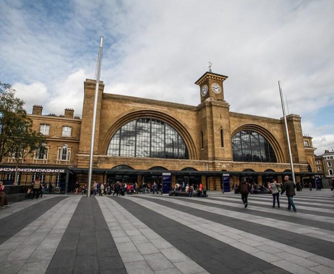 london, king cross station