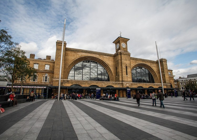 london, king cross station