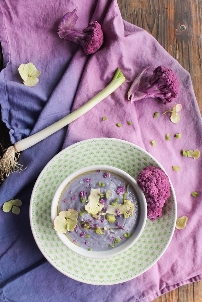 Velouté de chou-fleur recette