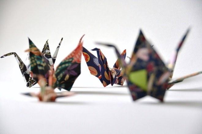 Origami Kranich (5)