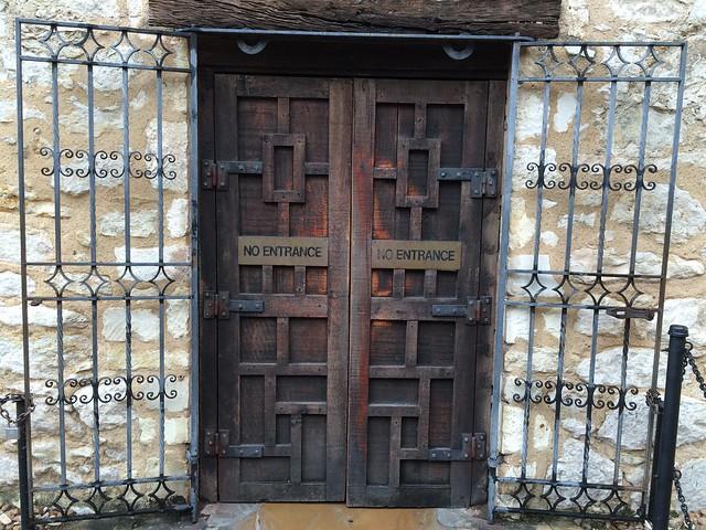 Photo:Back Door - The Alamo By:Len Radin