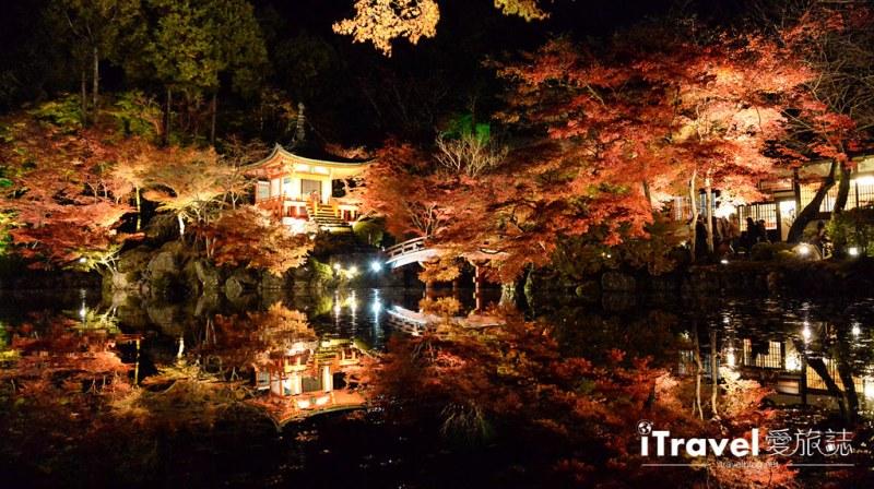 《京都赏枫景点》醍醐寺夜枫拜观限定开放,湖面景致不输永观堂推介给摄影爱好者