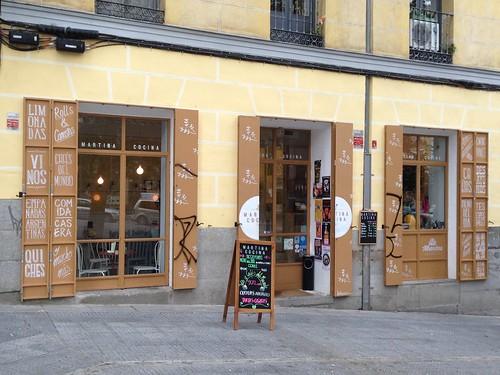 Martina Cocina, Cascorro. Madrid