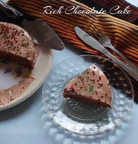 Rich Chocolate Cake2