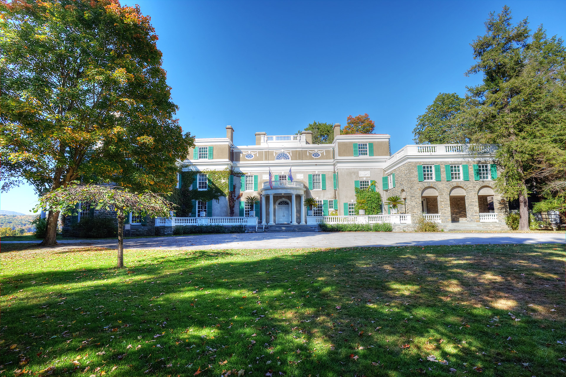 The Roosevelt Home.