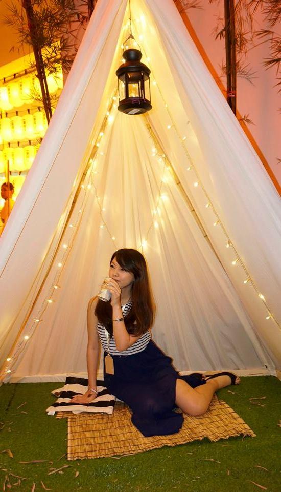Kirin Ichiban Glamping Night 2014