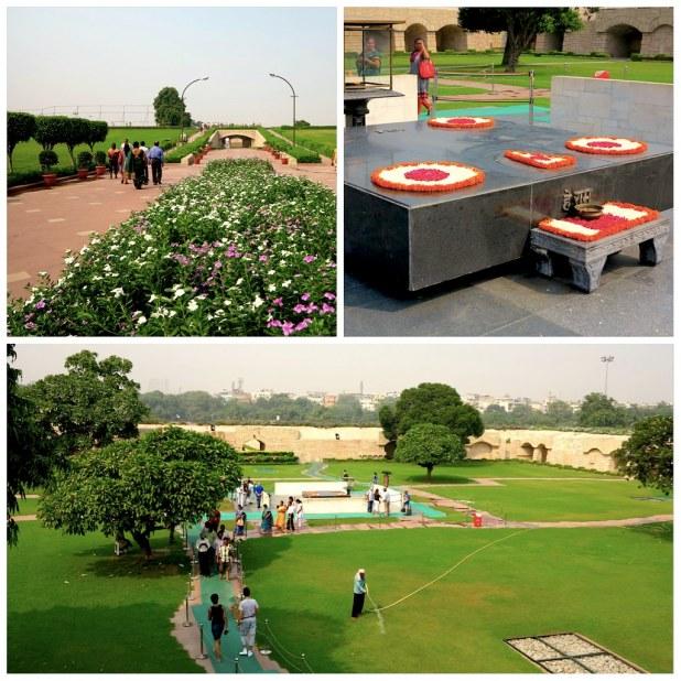 Raj Ghat Memorial Gandhi