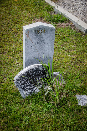 Mark Smith Grave