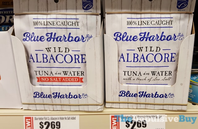 Blue Harbor Fish Co. Wild Albacore Tuna in Water