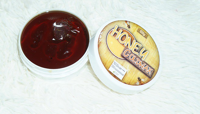 Hair Removal Esme Organics Honey Cold Wax Review and Demo 1