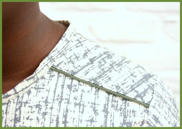 A-lijn jurk (schouder)