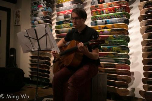 Matt Morel @ Antique Skate Shop