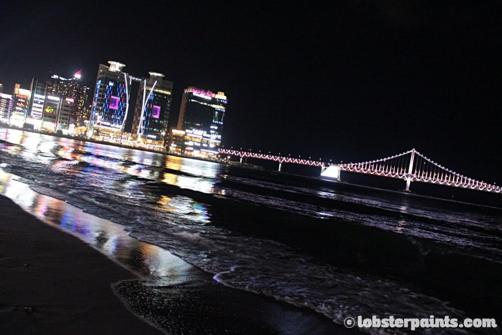 26 Sep 2014: Gwangan Beach & Gwangan Bridge | Busan, South Korea