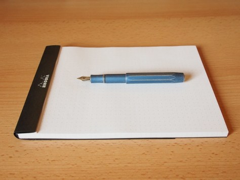 Kaweco AL Sport Stonewashed Blue Fountain Pen - Review - Uncapped