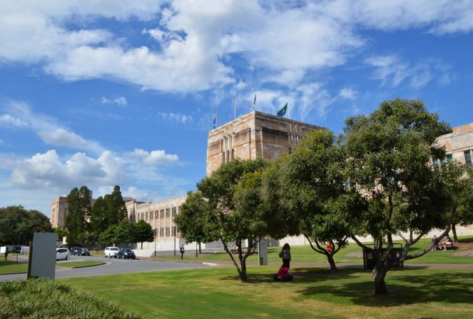 University of Queensland, Brisbane, architecture