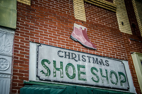 Christmas Shoe Shop