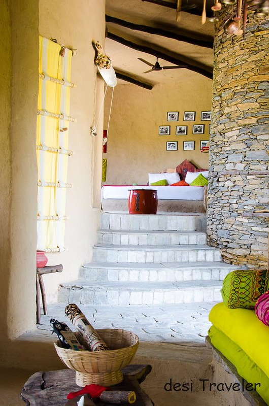Lakshman Sagar cottage interior design