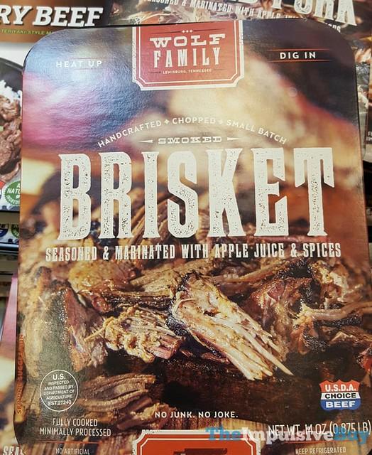 Wolf Family Smoked Brisket