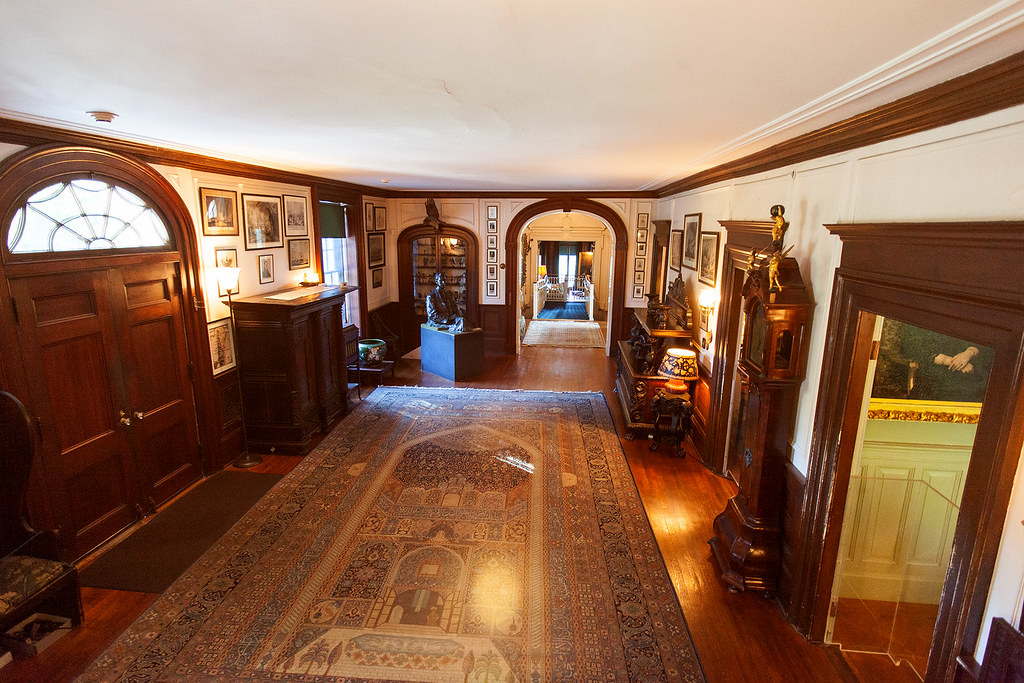 The Entry Hall, FDR Home.