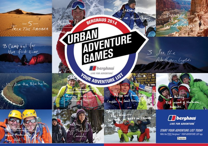 Berghaus Urban Adventure Game 2014