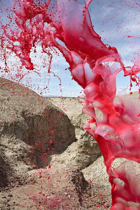 Фотопроект Кассандры Уорнер и Джереми Флото «Краситель»