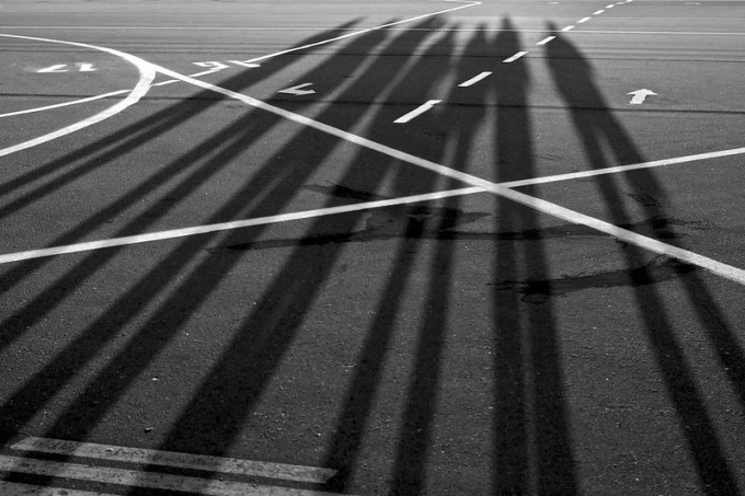 Shadows of the spotters