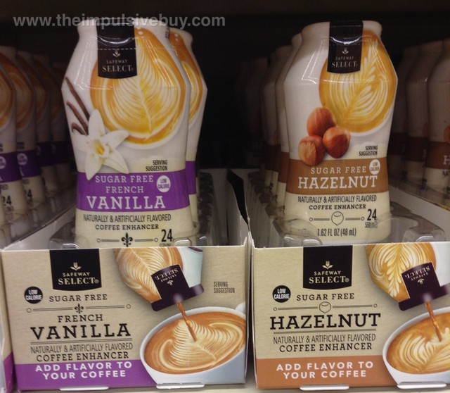 Safeway Select Coffee Enhancer (French Vanilla and Hazelnut)