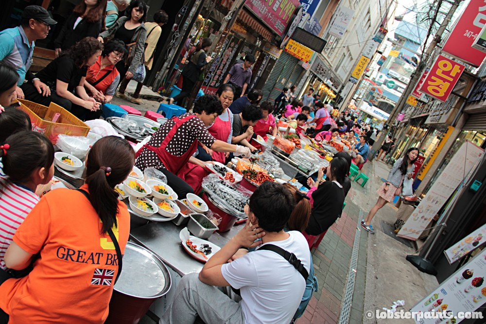27 Sep 2014: Gukje Market Food Alley | Busan, South Korea
