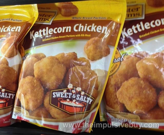 Foster Farms Sweet & Salty Kettlecorn Chicken