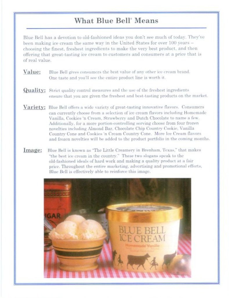 The History of Blue Bell 2