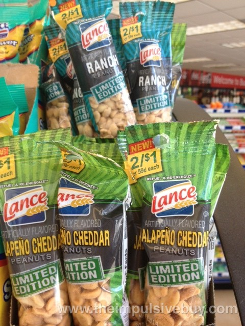 Lance Limited Edition Ranch Peanuts and Jalapeno Cheddar Peanuts